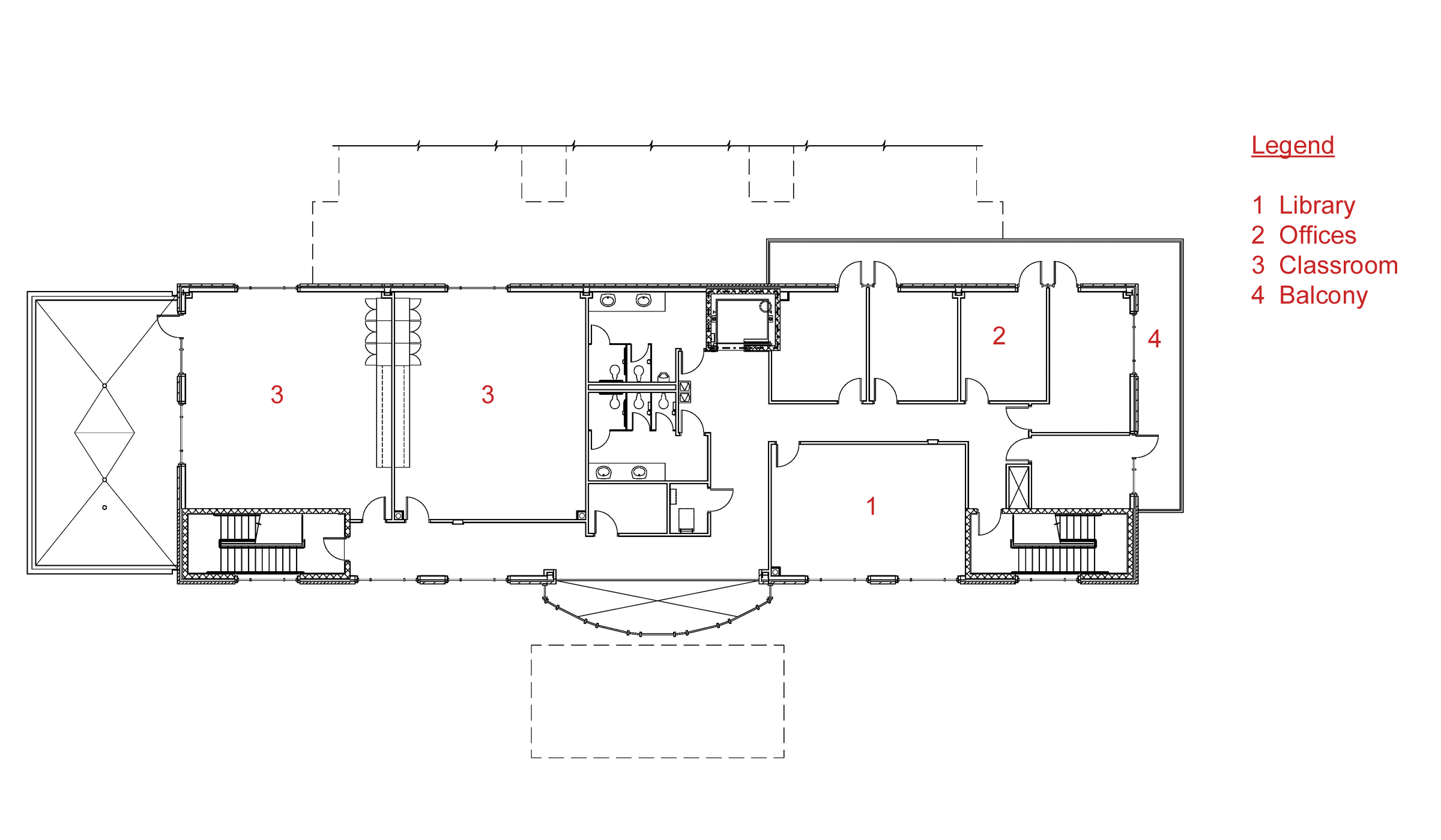 Classroom Design Description ~ Storey office building floor plan